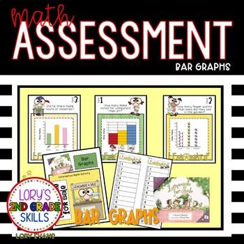 Math Assessment - Bar Graphs - Lemonade for Sale