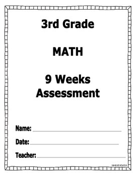 Math Assessment Based on Texas Core Standards