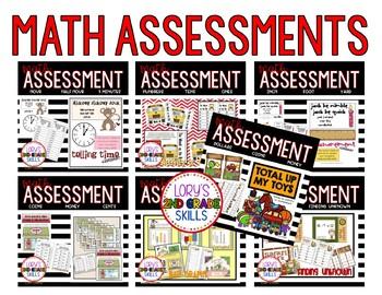 Math Assessment Bundle