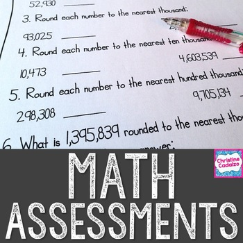 Math Assessments Bundle - Schoool Wide License