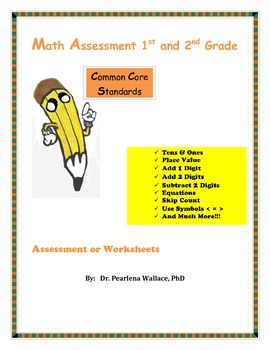Guided Math Second Grade: Add, Subtract, Equations, Place