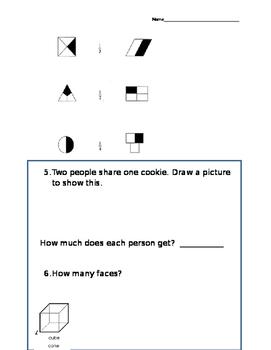 Math Assessment Geometry