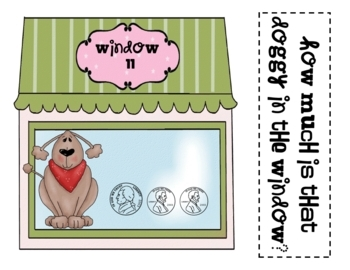 Math Assessment - Money - How Much Is That Doggy In The Window?