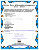 Math Assessment Package: Number Sense & Numeration
