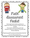 Math Assessment Packet (Virginia SOL Standards) 5th and 4t