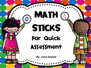 Math Assessment Sticks