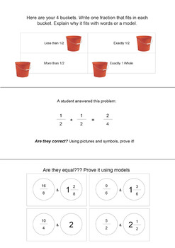 Math Assessment and Activity Pack