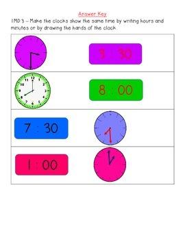 Math Assessment for ALL 1st Grade Standards