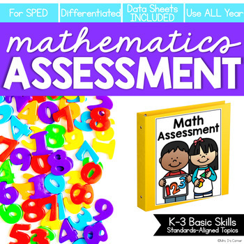 PRESALE Math Assessment for K-3 Basic Skills (for Special Education)