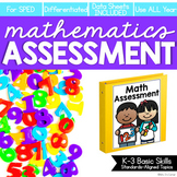 Math Assessment for K-3 Basic Skills (for Special Education)