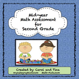 Math Assessment for Second Grade: Mid-Year