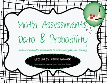 Math Assessments: Data & Probability