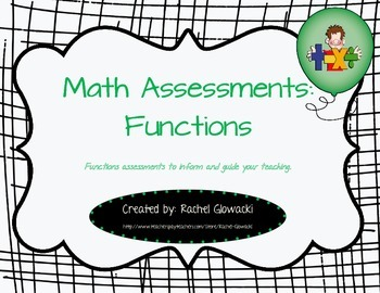 Math Assessments: Functions