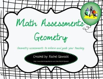 Math Assessments: Geometry