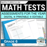 Math Assessments - Grade 6 - All Units