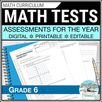 Math Assessments - Grade 6 - All Units