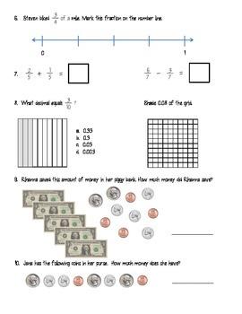 Math Assessments: Math Assessments Bundle