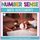 Math Assessments-Number Sense