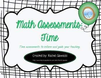 Math Assessments: Time