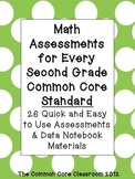 Math Assessments for Every Second Grade Common Core Standard