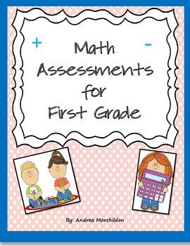 Math Assessments for First Grade