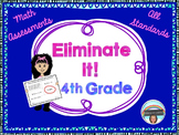 Back to School Math Review for Fourth Grade: All Common Core Standards