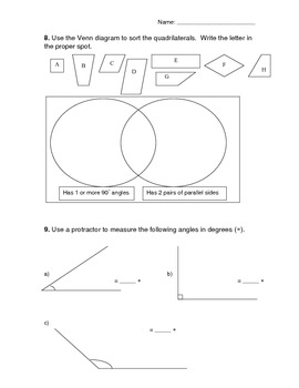 Math Assessments x 28 + 2 worksheets