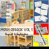 Number: Math Attack! Learning the Facts - Back to School