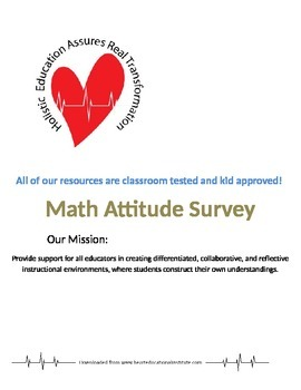 Math Attitude Survey