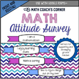 Math Survey: Student Attitudes and Beliefs About Math