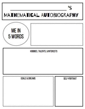 Math Autobiography