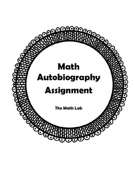 Math Autobiography for Students