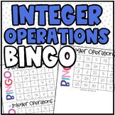 Math BINGO | Integer Operations
