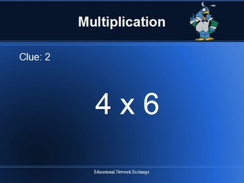 Math BINGO: Multiplication-Division-Roman-Numerals-Addition-Subtraction with PP