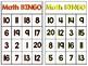 Math BINGO Numbers 1-20
