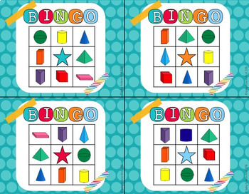Math BINGO for Small Groups!