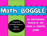3.2A Math BOGGLE Composing and Decomposing numbers STAAR