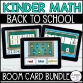 Digital Math BOOM Cards™ Bundle Back to School Theme