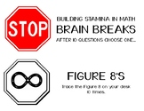 Math BRAIN BREAKS