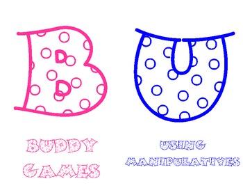 Math BUILD Labels