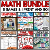 Math BUNDLE 1st Grade (tens and ones, telling time)