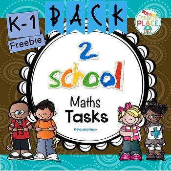 Math Back to School Freebie
