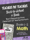 Math Back to School eBook for Grades 6-12 (2014-15)