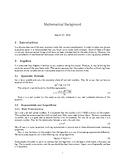 Math Background for High School Physics