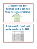 Math Bag or Tub Labels for First Grade Math Centers