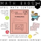 Spring Activities | Math Centers | Math Bags | 2nd Grade