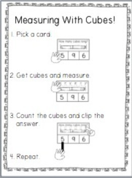Math Bags for Kindergarten COMPLETE SET (35+ Common Core Aligned Math Centers)
