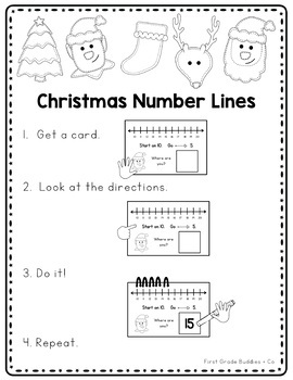 Christmas Activities | Math Centers | Math Bags | Kindergarten