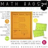 Math Bags for Kindergarten Set 4 (12 Common Core Aligned M