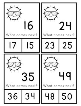 Math Bags for Kindergarten: Summer Version! (10 Summer Themed Math Centers)